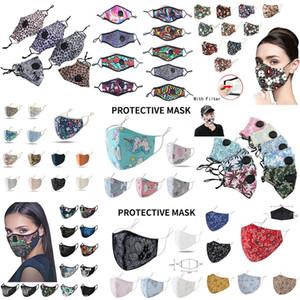 Moda mascarilla de respiración de la válvula anti polvo Mascarilla plegable sin válvula de protección a prueba de polvo PM2.5 cara diseñador de máscaras de envío