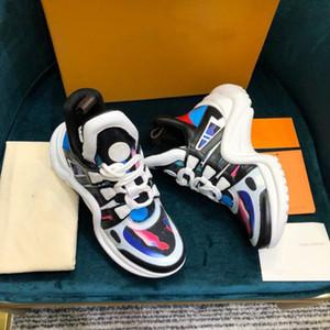 Scarpe Donna Designer Triple S uomini della scarpa da tennis Archlight Graffiti Pelle Sneakers Fashion Luxury Vintage Chaussures Stelle Designer Shoes Retro