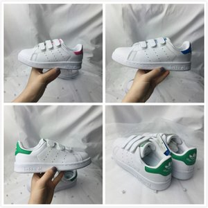 2019 Marca Shell Head boy ragazze Sneakers Superstar bambini Kids Scarpe stan scarpe smith sneakers in pelle scarpe sportive da corsa