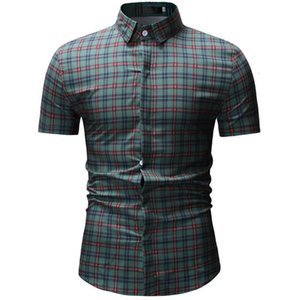 Neuer Sommer-Männer Shirts, Recreational kurzärmelige Hemden, Männer, Tight, hawaiische Strand-Hemden der Männer