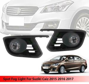 Автомобиль OEM Стиль Непосредственно Замена лампы Противотуманные фары для Suzuki Ciaz 2015-2017 Вт / лампа + переключатель + провод + ободок / 1SET