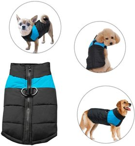Cold Weather Dog Warm Vest Jacket Coat,Pet Winter Clothes for Small Medium Large Dogs