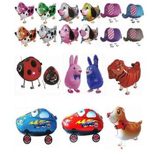 de balões de ar Decoração Partido Walking Pet Balão Criança Toy animal balões Walking animal do balão Crianças Decoração Brinquedos partido do presente Xmas