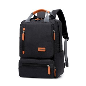 Fashionable computer bag, men and women business casual backpackBackpack male student bag travel bag multifunctional casual laptop bag