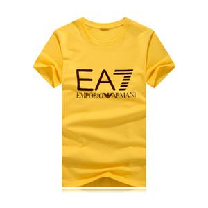 2019 Yeni Moncl Tasarımcıları Erkekler ve Kadın Için T Shirt Tops T-Shirt Erkek Giyim Marka Kısa Kollu gömlek Bayan Giyim Boyutu S-3XL Streetwear