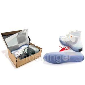 New Mens Esquerda Direita calçados casuais da forma das mulheres Designer mandris vulcanizada Ice Blue Tamanho Shoe 36-45