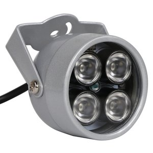 المصابيح cctv 4 مجموعة ir led إضاءة ضوء الأشعة تحت الحمراء للرؤية الليلية للماء cctv ملء ضوء ل cctv كاميرا ip