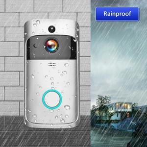 واي فاي الفيديو باب الهاتف العين جرس الباب البصرية تسجيل 720P الأمن الرئيسية ليلة الرؤية مراقبة فيديو لاسلكية إنترفون الجرس