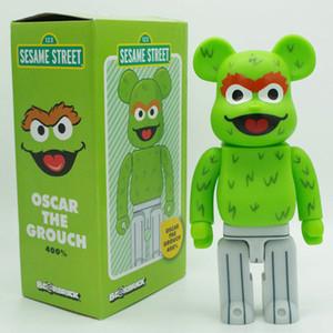 400% Bearbrick Sesame Street Violent Bear Handmade Model Toys Decorations Birthday Christmas Gifts HD36