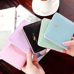 2020 new designer wallet designer ladies wallet multi-card printing ladies wallet Black pink blue purple Light blue