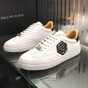 Neue Luxus-Luxus der Männer arbeiten Turnschuhen weggelaufen Turnschuhe Marken-Schuhe hoher Qualität die Luxusschuhe Leder laufende Turnschuhe BRAND Männer cas