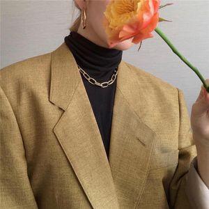 Hip hop Choker Fashion Bohemian Style Necklace Pendant Collar for Women Handmade Shell Conch Women's Initial Punk Necklac