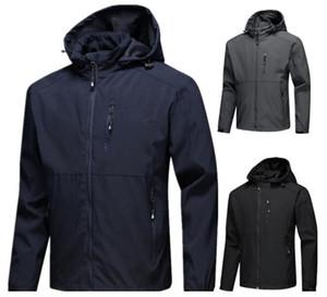 Mens designer jackets Long Sleeve windbreaker windrunner Men Zipper Waterproof Jacket face north Hoodie coats clothesats clothes