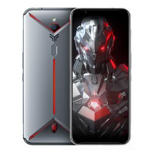 """Nubia originale rouge magique 3S 4G LTE Cell Phone Jeu 8 Go de RAM 128Go ROM Snapdragon 855 plus 6,65"""" écran 48MP pleine d'empreintes digitales ID Téléphone mobile"""