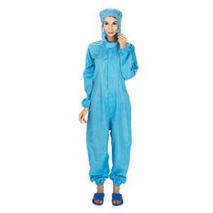 El traje de pintura resistente al agua de lluvia encapuchadas Monos Ropa de Trabajo a prueba de polvo spray unisex impermeable de trabajo llevan trajes de seguridad