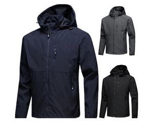 Moda-Nuevas chaquetas de diseñador para hombre Cazadora de manga larga windrunner Hombres Cremallera Chaqueta impermeable cara norte Sudadera con capucha abrigos ropa
