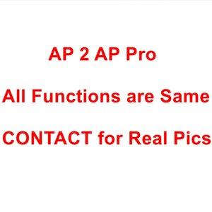 Para Airpods 2 Pro Auriculares de calidad superior de sonido Nombre GPS Cambio de funda de silicona de dibujos animados Auriculares Accesorios para Airpods Pro Cubiertas AP 1 2 3