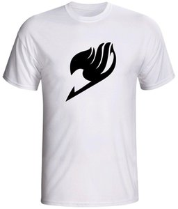 camiseta con manga anime manga natsu manga corta camiseta New Top Tees Estilo Moda Hombre Camisetas 100% Algodón Clásico