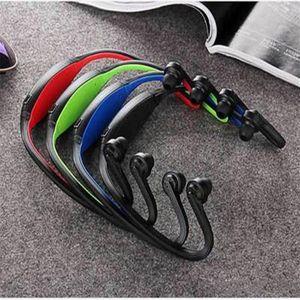 Nouveau S9 Casque stéréo Bluetooth Haut-parleur Sport Casque sans fil Casque tour de cou dans l'oreille d'écouteurs Hifi Lecteur de musique Pour plus iPhone6 Note4