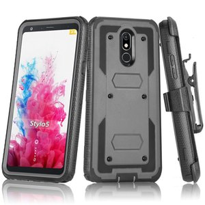 For Samsung S10 E S9 S8 S7 S6 EDGE PLUS Heavy Duty Shockproof Holster swivel Belt Clip Rotatable Kickstand Defender Cover CASE