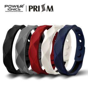Power Ionics Prism 2000 Ions Titane Germanium Bracelet Bracelet Balance Balance Energie Corps Humain J190625