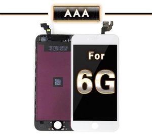 Оптовая Передний ЖК-дисплей с сенсорным экраном дигитайзер Полное собрание Замена части для iphone 6 6G 4.7inch ЖК-дисплей Свободный DHL корабля