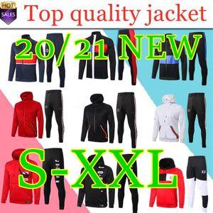 2020 2021 chaqueta con capucha paris Survetement 19 20 21 chaquetas de fútbol Paris CAVANI Mbappe chándales Jordam aire TRACKSUIT x fútbol