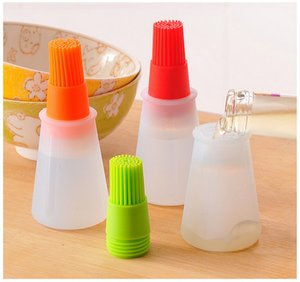 Kitcken Silicone Oil Brush Baking Brushes Liquid Oil Pen Cake Butter Bread Pastry Brush BBQ Utensil Safety Basting Brush