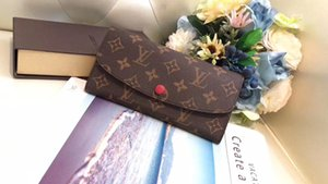 2020 high-quality new European and American classic ladies zero wallet PVC + leather popular ladies wallet card bag