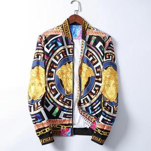 New Jeans Jacket Men Streets DOODLE Denim Coat Male Motorbike Jean Coat Jackets Asian Size free shipping