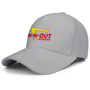 In-N-Out Burger LOGO for men and women adjustable trucker cap cool cool custom stylish baseballhats IN-N-OUT 3D Neon Sign Palm Trees IT