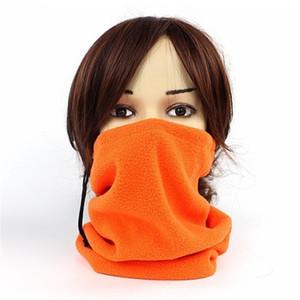 Unisexe Multifonction En Plein Air Écharpe En Molleton Polaire Thermal Face Snuggling Muffler Neck Warmer Head Wrap Chapeau D'hiver Balaclava Foulard C19011001