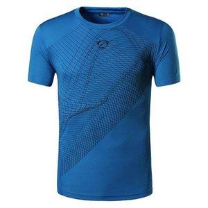 Bisiklet Sporları Yeni Erkek T-shirt Spor T shirt Erkekler Kısa Kol Spor Spor Üst Tee Giyim Erkek Spor Jerse Koşu Wear