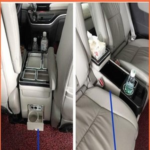 High quality Multifunctional car console box,armrest storage box with USB,Cup holder,led Atmosphere lamp For Buick GL8 2002-2020