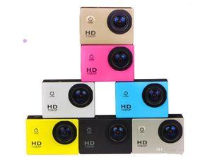 20PCS SJ4000 freestyle D001 2-inch LCD 1080P Full HD HDMI action camera 30 meters waterproof DV camera sports helmet SJcam DVR00Multicolor