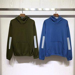 Fashion New Mens Hoodies Männer der Qualitäts-lange Hülsehoodies Herren Sweatshirt Jacken-Größe M-2XL 4 Farben