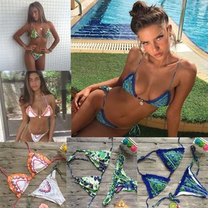 Bikinis Femmes Maillot De Bain Sexy Bikini Brésilien Ensemble Biquini Rose Bandage Plage Maillot De Bain Maillots De Bain Femmes 2017 Maillot Brésilien