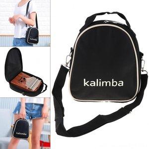 17/15 / 10 Tecla Universal Kalimba Storage Bag Thumb Piano Teclados Piano Mbira Soft Case Oxford Cloth Dentro Cotton Shoulder Bag portátil