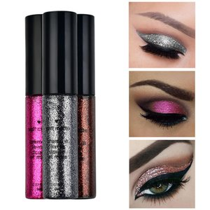 Beauty Highlight Eyeshadow Waterproof Cosmetic Glitter Eyeshadow Eyeliner Liquid
