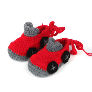 Unisex Baby Shoes For Boy And Girls Newborn Bootie Winter Warm Infant Toddler Crib Shoes Knitted Wool Floor First Walkers 0-12M