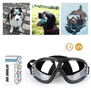 A prova di Ultraviolet antivento impermeabile Sun-prova domestico di sicurezza occhiali di protezione del cane Occhiali protettivi Occhiali all'aperto accessori per occhiali da vista per cani