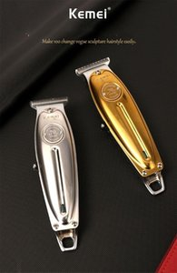 Kemei KM-1949 Oiler elétrica Hair Clipper Carving em branco Hair Clipper USB Rechargeable Hair Clipper frete grátis
