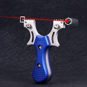Düz Kauçuk Bant Av Sapan Lazer Bow Açık Oyunu hedefleyen Hedef Huntingbow Seviye Meter Atış Mancınık Okçuluk Slingbow hedefleyen