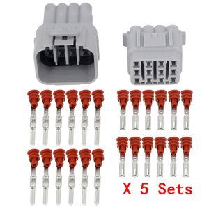 5 Sets / Kits 12 Pin / Way fio elétrico à prova d'água Connector DJ7125Y-2,2-11 / 21 masculino e feminino Automobile Connector