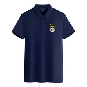 Бенфика Логотип футбольного клуба мужской моды Golf Polo Футболка мужская с коротким рукавом поло футболки