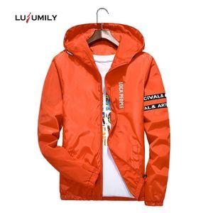 Lusumily Grund Jacke New Frühling und Herbst koreanische Art weiblicher dünne Taschen-Motorrad-Jacke Frauen-beiläufige plus Größe 4XL Hoode Mantel