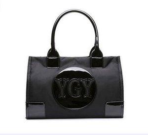 new famous fashion designer nylon tote women handbags shopping bag for lady 133