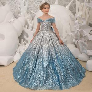 infantil competencia de piano pasarela vestido de chica de encargo de gama alta vestido de fiesta de cumpleaños vestido de la princesa del vestido de verano