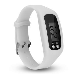 Sports de plein air Montre-bracelet Électronique au gel de silice Montre-bracelet Plus de fonctions