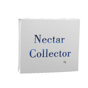 14mm néctar Collector con aceite domeless metal del clavo de titanio kit colector nector clavo Plataformas Tubos de agua de mini cristal